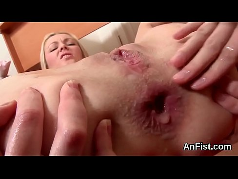 Frisky lesbian babes are stretching and fisting assholes