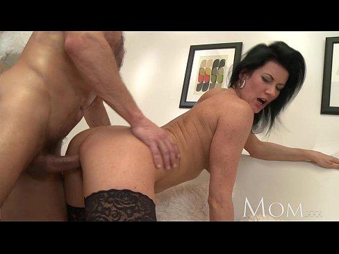mommy makes her boy cum twice