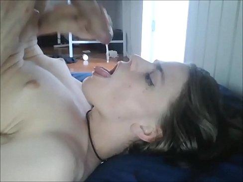tranny sucks own cock