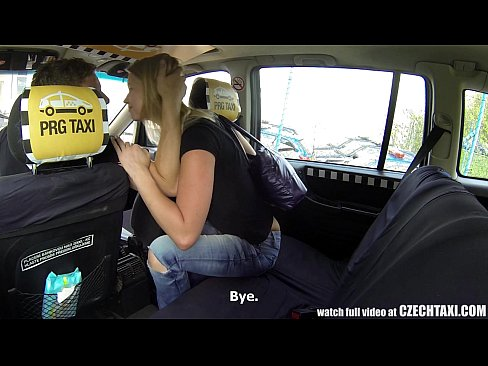 10 Min Czech Taxi Blonde Teen Gets Ride Of Her LIFE Film