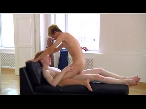 blonde twink takes pale gingers fat cock