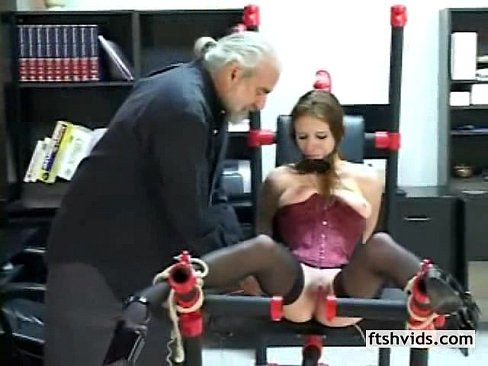 Forced masturbation tube