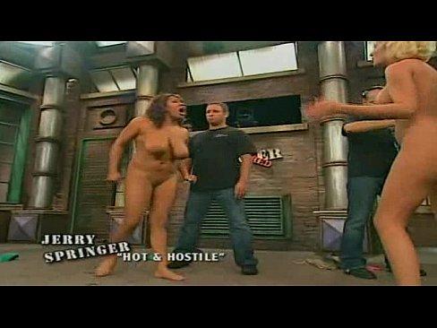 naked womens on jerry springer