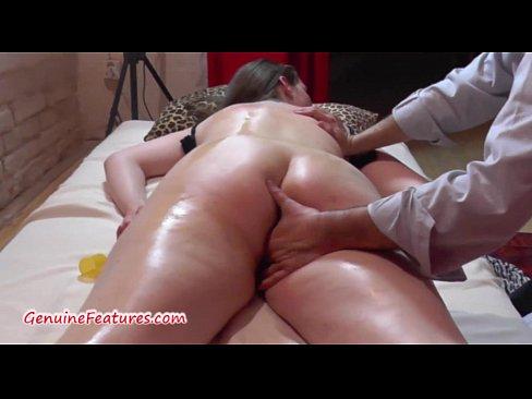 Woman massage chubby