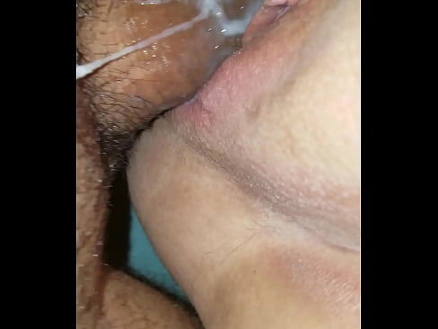 Fucking after creampie
