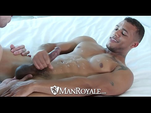 Ebony Kevin Blaise fucks Jack Hunter tight ass