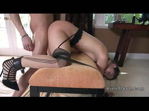 Dude has fetish slave home for anal sex