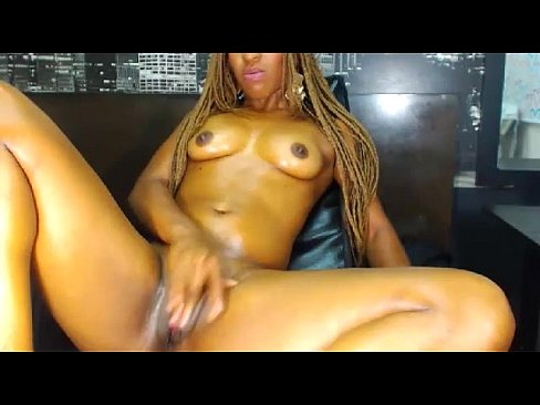 hot ebony masturbate on webcam